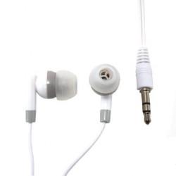 MCL - CSQ-ECM/W Dentro de oído Binaurale Alámbrico Blanco auriculares para móvil