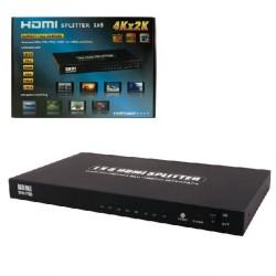 MCL - MP-HDMI3D/8 divisor de video HDMI