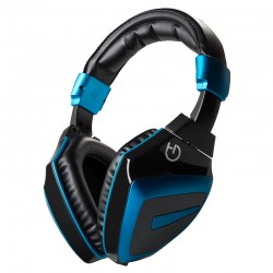 Hiditec - HDT1 Auriculares Diadema Negro, Azul