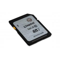 Kingston Technology - Class 10 UHS-I SDHC 16GB 16GB SDHC UHS Clase 10 memoria flash