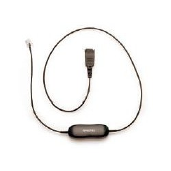 Jabra - QD cord, straight, mod plug 0.5m cable telefónico - 20877519