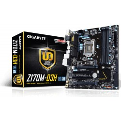 Gigabyte - GA-Z170M-D3H Intel Z170 LGA 1151 (Socket H4) Micro ATX placa base