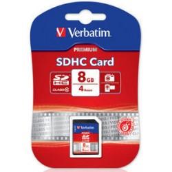 Verbatim - Premium 8GB SDHC Clase 10 memoria flash