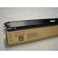 Sharp - MX-31GTBA Tóner de láser 18000páginas Negro tóner y cartucho láser