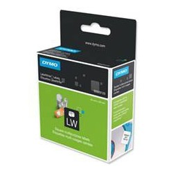 DYMO - Square multipurpose labels Negro, Color blanco 750pieza(s) etiqueta autoadhesiva
