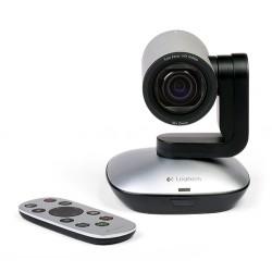 Logitech - PTZ Pro Camera 1920 x 1080Pixeles USB Negro, Gris cámara web