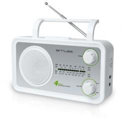 Muse - M-05 SW Portátil Analógica Blanco radio