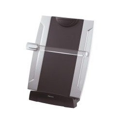 Fellowes - 8033201 De plástico Negro, Plata archivador