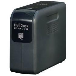Riello - iDialog 800VA 800VA Torre Negro sistema de alimentación ininterrumpida (UPS)