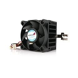 StarTech.com - Ventilador para CPU Socket 7/370 de 50x50x41mm con Disipador de Calor y Conectores TX3 y LP4