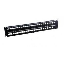 MCL - PB-UNI6/48N 2U panel de parcheo