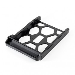 """Synology - Disk Tray (Type D7) 2.5/3.5"""" Panel embellecedor frontal Negro"""