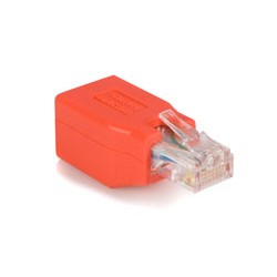 StarTech.com - Adaptador de Cable de Red Ethernet Cat6 Directo Recto Straight a Cruzado Crossover UTP Patch RJ45