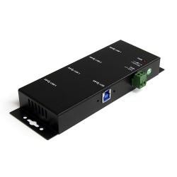 StarTech.com - Hub Industrial de 4 Puertos USB 3.0 con Protección Antiestática ESD