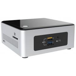 Intel - NUC BOXNUC5CPYH PC/estación de trabajo barebone N3050 1,6 GHz UCFF Negro, Plata BGA 1170