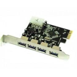 Approx - APPPCIE4P Interno USB 3.0 tarjeta y adaptador de interfaz