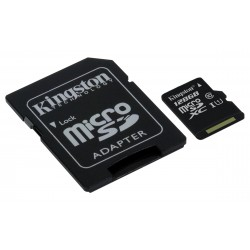 Kingston Technology - microSDXC Class 10 UHS-I Card 128GB 128GB MicroSDXC UHS-I Clase 10 memoria flash