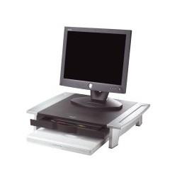 Fellowes - 8031101 Negro, Plata soporte de mesa para pantalla plana