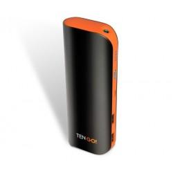 TenGO - Power Bank 8800 8800mAh Negro, Naranja batería externa