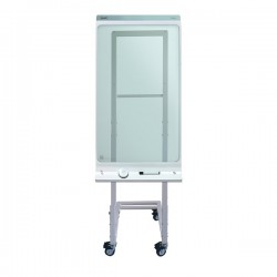 "Newstar - NS-SKM100WHITE 42"" Portable flat panel floor stand Blanco soporte de pie para pantalla plana"