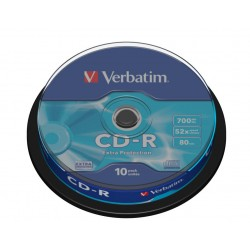Verbatim - CD-R Extra Protection CD-R 700MB 10pieza(s) - 143365
