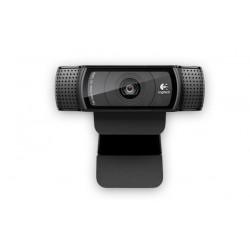 Logitech - C920 cámara web 15 MP 1920 x 1080 Pixeles USB 2.0 Negro
