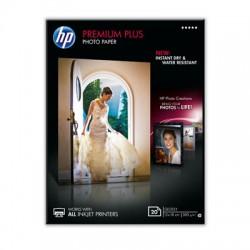 HP - Papel fotográfico brillante Premium Plus - 20 hojas/13 x 18 cm