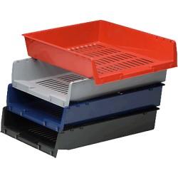 FAIBO - 90-07 bandeja de escritorio/organizador Poliestireno Azul