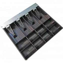 APG Cash Drawer - VPK-15B-5-BX bandeja para cajón portamonedas Negro