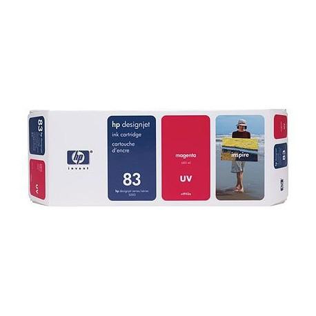 HP - Cartucho de tinta UV DesignJet 83 magenta de 680 ml