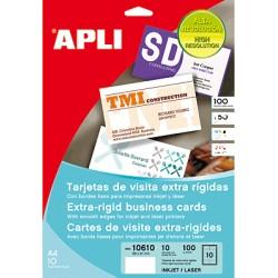 APLI - 10609 100pieza(s) tarjeta de visita