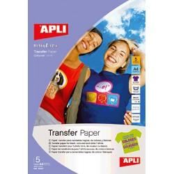 APLI - 10247 papel transfer para tejido Inyección de tinta