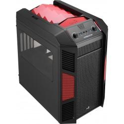 Aerocool - XPredator Cube Cubo Negro, Rojo - 19615794