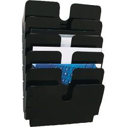 Durable - 1700014061 estantería para libros 1 estanterías Negro