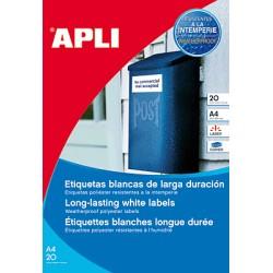 APLI - APL B20H ETIQ POLIESTER99.1x38.3BL 12113