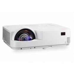 NEC - M333XS videoproyector 3300 lúmenes ANSI DLP XGA (1024x768) 3D Proyector para escritorio Blanco