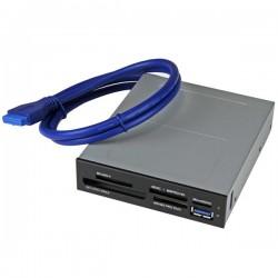 StarTech.com - Lector Interno USB 3.0 para Tarjetas Memoria Flash con Soporte para UHS-II
