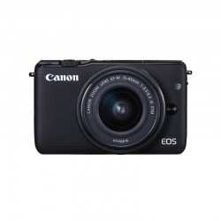 Canon - EOS M10 + EF-M 15-45mm f/3.5-6.3 IS STM MILC 18MP CMOS 5184 x 3456Pixeles Negro