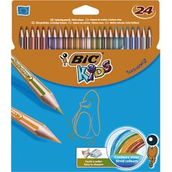 BIC - 832568 laápiz de color 24 pieza(s) Multi
