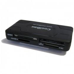 CoolBox - CRE-050 USB 2.0 Negro lector de tarjeta