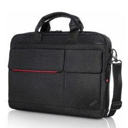 "Lenovo - ThinkPad 14.1"" Professional Slim Topload maletines para portátil 35,8 cm (14.1"") Maletín Negro, Rojo"