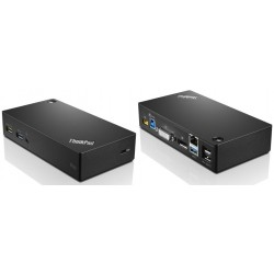 Lenovo - ThinkPad USB 3.0 Ultra Dock USB 3.0 (3.1 Gen 1) Type-A Negro