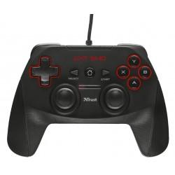 Trust - GXT 540 Gamepad PC, Playstation 3 RF Negro