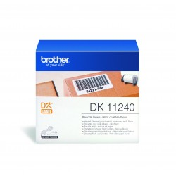 Brother - DK-11240 etiqueta de impresora Blanco