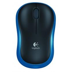 Logitech - M185 RF inalámbrico Óptico Azul ratón