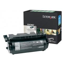 Lexmark - 12A7462 cartucho de tóner Original Black 1 pieza(s)
