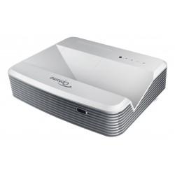 Optoma - EH320UST videoproyector 4000 lúmenes ANSI DLP 1080p (1920x1080) 3D Proyector para escritorio Gris