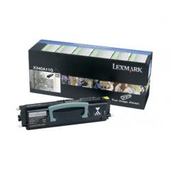 Lexmark - X340A11G cartucho de tóner 2500 páginas Negro