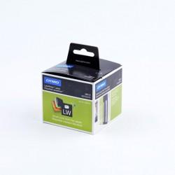 DYMO - Lever arch labels Negro, Color blanco 110pieza(s) etiqueta autoadhesiva