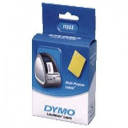 DYMO - Removable Multi purpose Labels Negro, Color blanco 500pieza(s) etiqueta autoadhesiva